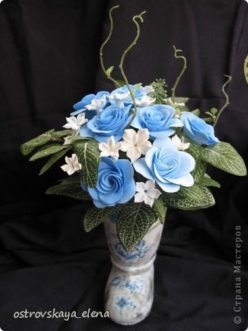 И не только розы....Часы и малюсенькая шкатулочка. фото 18