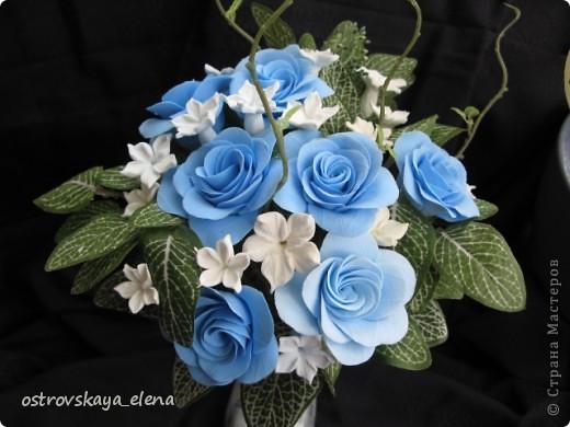И не только розы....Часы и малюсенькая шкатулочка. фото 19