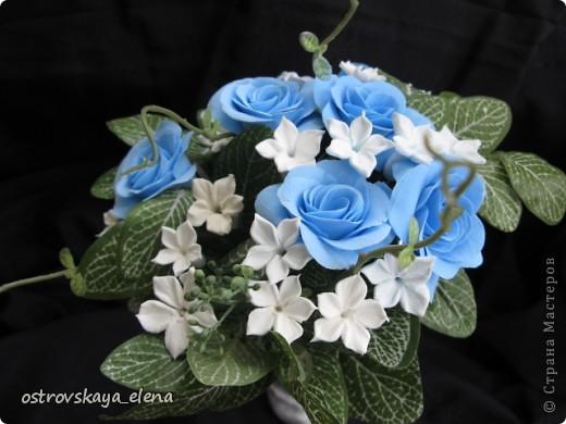 И не только розы....Часы и малюсенькая шкатулочка. фото 20