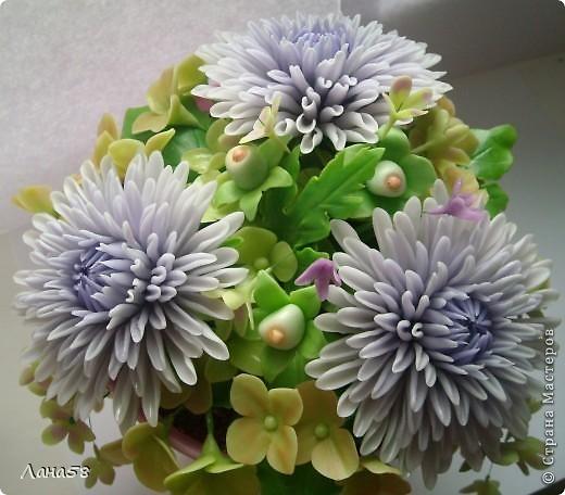 Мастер-класс Флористика Лепка Мини МК по лепке лепестков хризантемы Фарфор холодный фото 2