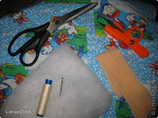 Куклы Шитьё Как я делаю МЫШКУ мини-МК Капрон фото 2