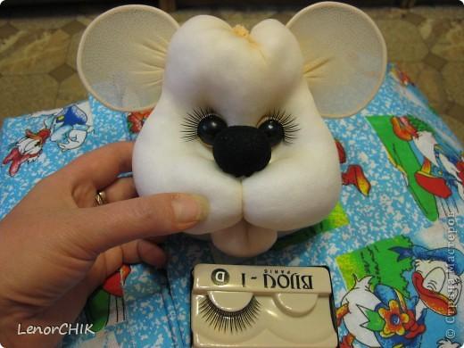 Куклы Шитьё Как я делаю МЫШКУ мини-МК Капрон фото 1