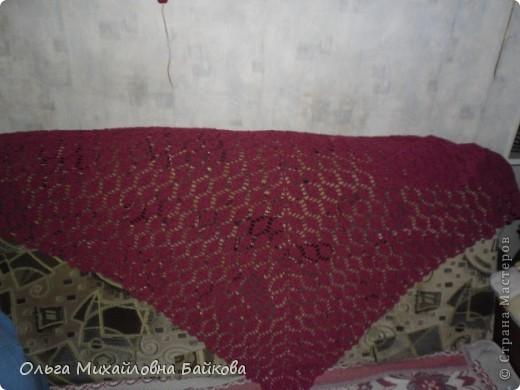 Гардероб Вязание крючком Шалю