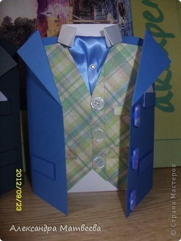 """открытка-пиджак """" Поиск мастер классов, поделок своими руками и рукоделия на SearchMasterclass.Net"""