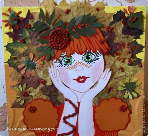 Поделки в садик осень