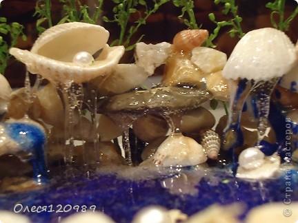 моя повторюшка!изменения: форма, дополнена морскими камушками, основная зелень-сухоцвет фото 8