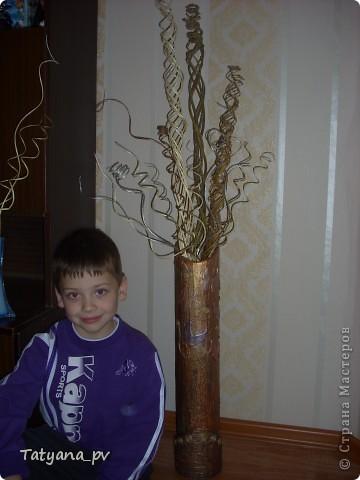 Ну вот сбылась моя мечта иметь дома высокие вазы и в них лозу))) Огромное СПАСИБО мастерицам СМ!!! Только благодаря всем Вам у меня такое получилось сделать самой!))) фото 9