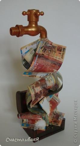 Как сделать денежный талисман из купюры