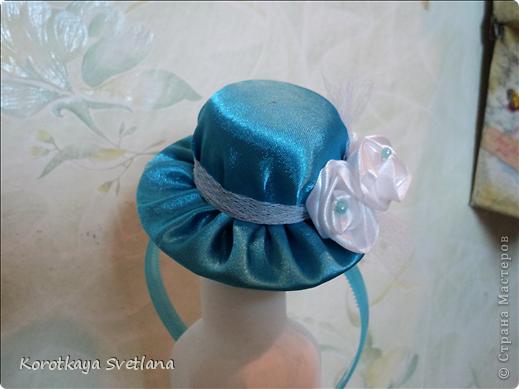 Мастер класс как сделать шляпку для девочки