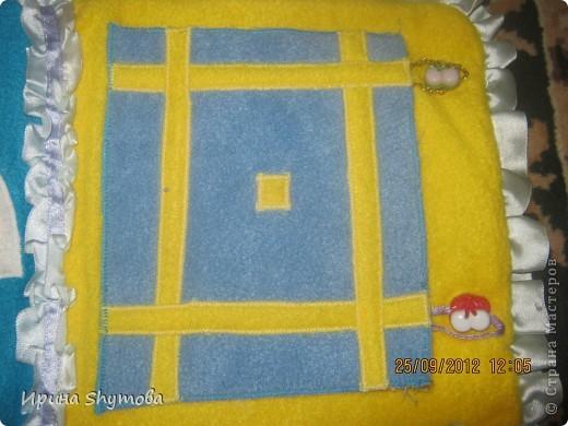 На рождение моего племяшки сделала ему коврик. За основу были взяты работы разных мастериц, но и своего доработано немало. фото 4