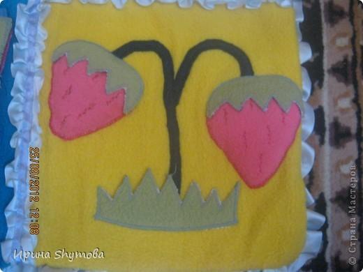 На рождение моего племяшки сделала ему коврик. За основу были взяты работы разных мастериц, но и своего доработано немало. фото 12