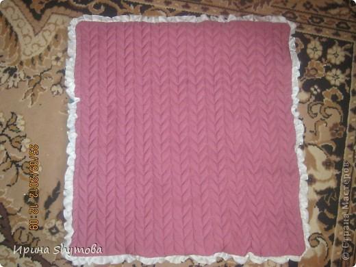 На рождение моего племяшки сделала ему коврик. За основу были взяты работы разных мастериц, но и своего доработано немало. фото 13