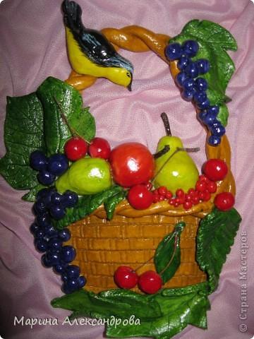 Мастер класс соленое тесто фрукты