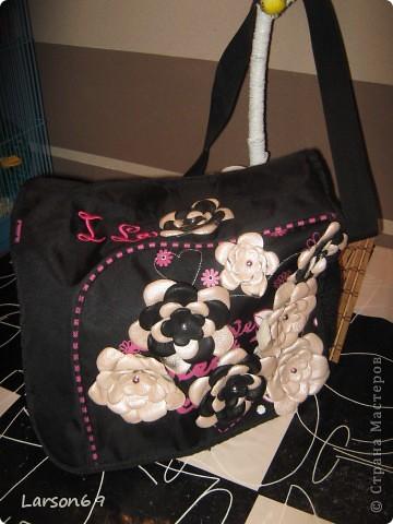 Решила сумку немного изменить.... фото 5