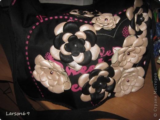 Решила сумку немного изменить.... фото 1