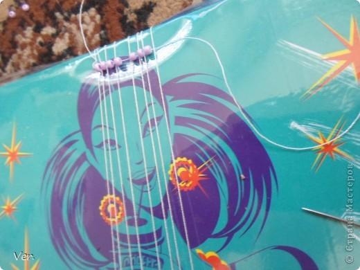 Плетение - Фенечка из бисера.