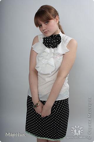 блузочка и юбочка.