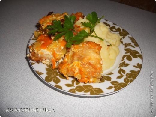 Добрый вечер, Страна Мастеров! Хочу поделится может и не замысловатым блюдом, но мне оно понравилось. как говорится на скорую руку. Это филе жареной щуки с морковкой и луком, рецепт взяла вот здесь http://harch.ru/headline/ryba-tushenaya-v-majoneze. фото 2