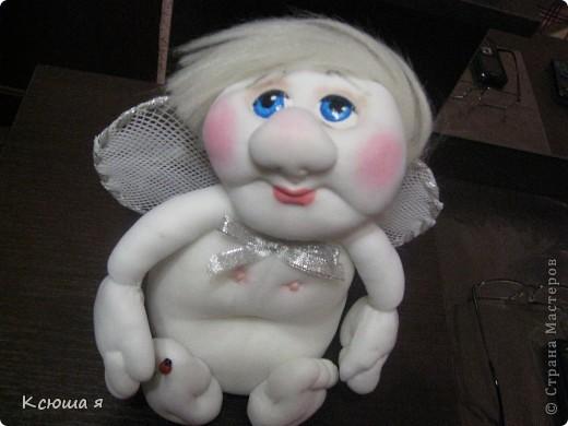 Ангелочек по идее моей любимой Елены Лаврентьевой. фото 1
