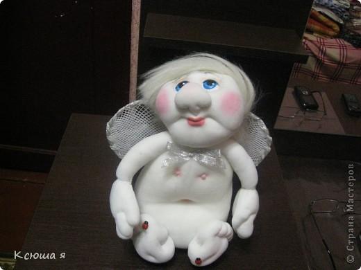 Ангелочек по идее моей любимой Елены Лаврентьевой. фото 2