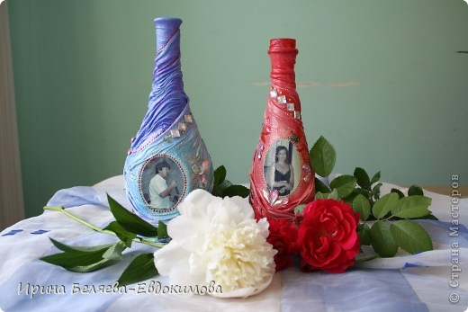 подарочные бутылки фото 2