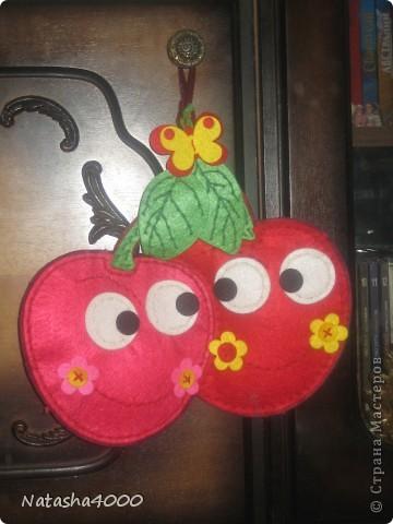 Игрушка Поделка изделие Шитьё Игрушки из фетра Mama&Docha Бисер Бусинки Нитки Ткань фото 12.