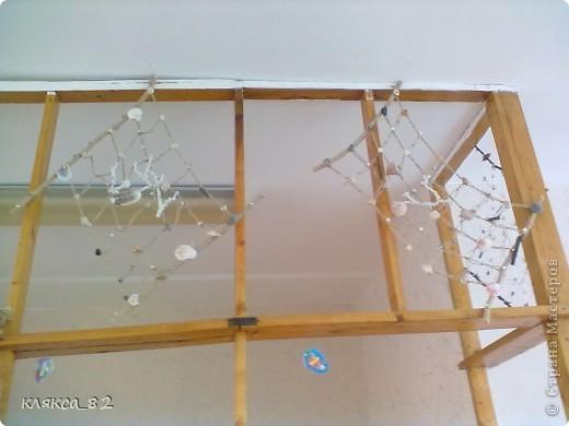 вот такой получился аквариум из различного материала в группу моей дочечки, р-р 100х200 см фото 6