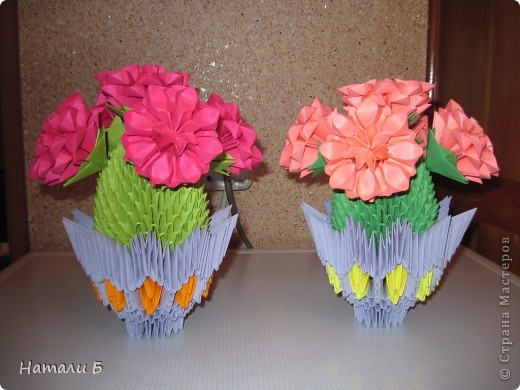 модульное Цветущие кактусы