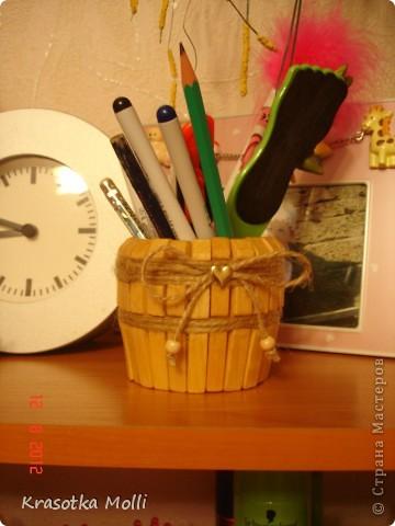 карандашница и стаканчик для дочиных расчесок)) фото 2