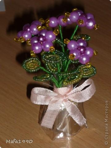 Целая клумба маленьких подарочных букетиков фото 7