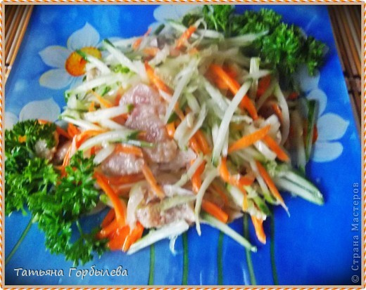 рыба хе из горбуши рецепт с фото