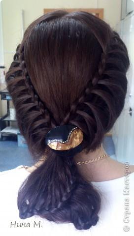 ПРодолжаю выкладывать свои работы по плетению кос. Коса - Неаполь. фото 1