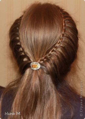 ПРодолжаю выкладывать свои работы по плетению кос. Коса - Неаполь. фото 2