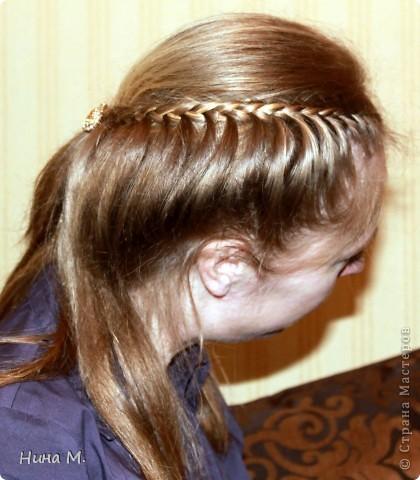 ПРодолжаю выкладывать свои работы по плетению кос. Коса - Неаполь. фото 3