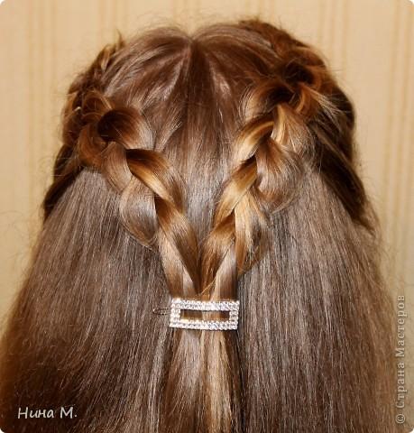 ПРодолжаю выкладывать свои работы по плетению кос. Коса - Неаполь. фото 5