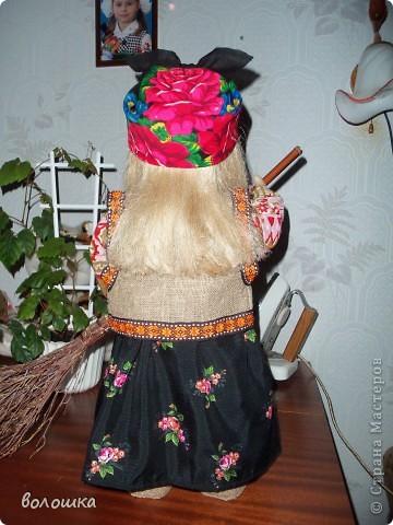 Это первая моя кукла которая стоит самостоятельно  благодаря проволке пожожче и  тапочкам . фото 6