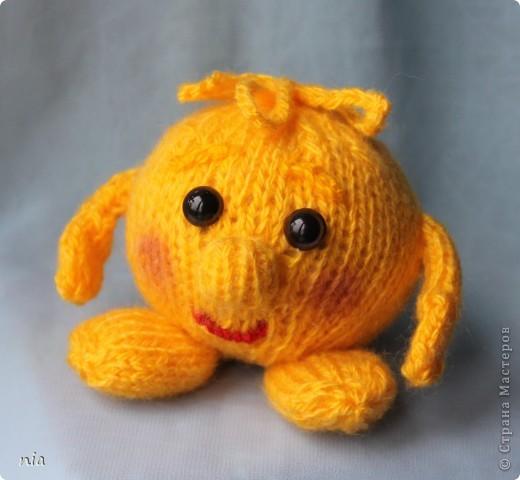 Игрушка Вязание спицами