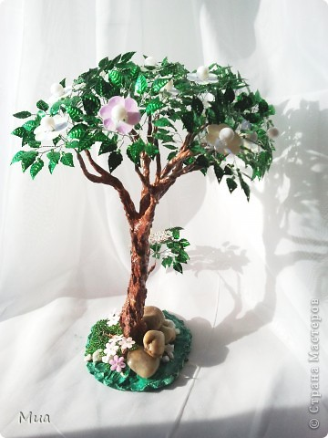 Много фото. Спасибо сайту Радуга Рукоделий и куратору курса Тетянке за возможность сделать такие чудесные деревья фото 7
