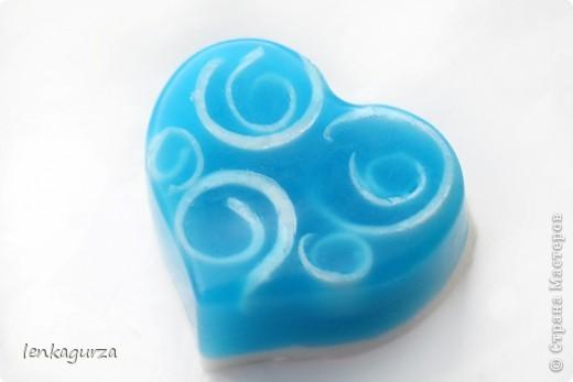 В сердце вплавлена мыльная роза фото 3