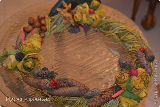 Немного фантазии и праздничный веночек готов! фото 4