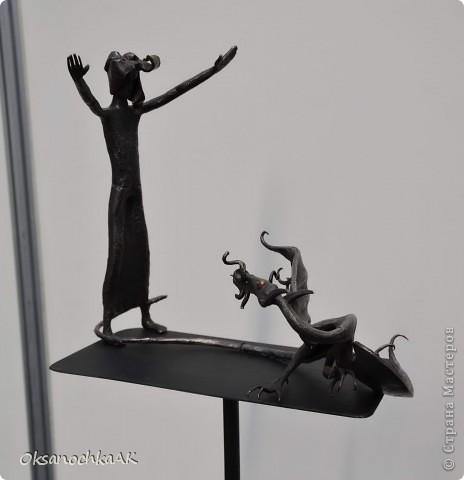 """Здравствуйте все! Как и обещала, выкладываю фотоотчетс выставки, на которой представлены и мои работы.  1 часть посвящена работм, которые там были. 2 часть-моим (и не только). Фотографии сделаны не мной. Но все понятно, что к чему.:) Вот такая красивая кукла.. """"Яшма-королева камней"""". фото 15"""