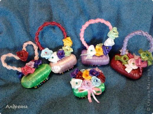 Привет всем жителям страны мастеров, вот презентую вам ароматные лукошечки в подарок!!!  фото 1