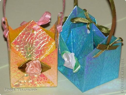 Коробочки, как канфетки))) фото 6