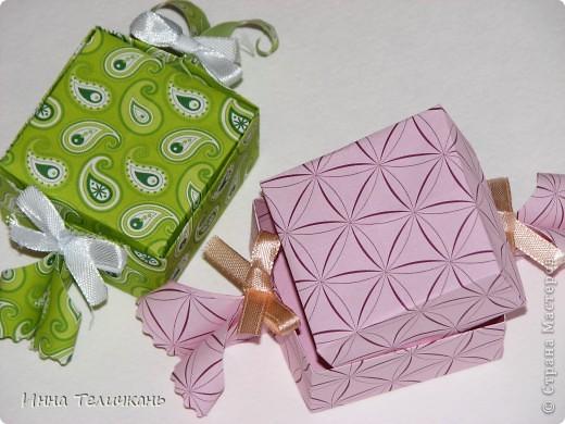 Коробочки, как канфетки))) фото 2