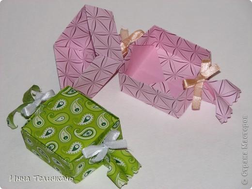 Коробочки, как канфетки))) фото 3