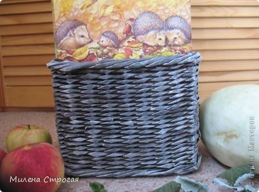 """Добрый день, мастера и мастерицы! В рамках ежегодной выставки """"Осенний букет"""" сделалась такая напольная ваза с ивовой лозой... фото 2"""