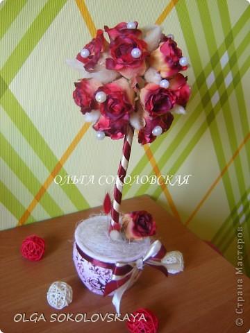 """Вот такой """"Осенний поцелуй"""" я сделала на День рождения своей мамочке))) фото 1"""