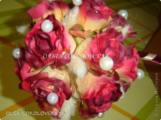 """Вот такой """"Осенний поцелуй"""" я сделала на День рождения своей мамочке))) фото 3"""