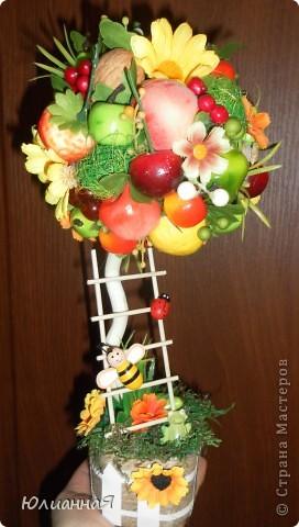 Топиарий своими руками пошаговая инструкция из фруктов
