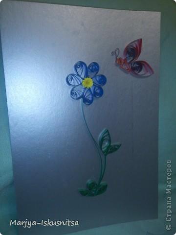 Цветочек (мои первые шаги в квиллинге)